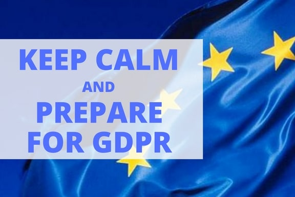 Keep Calm GDPR MDT